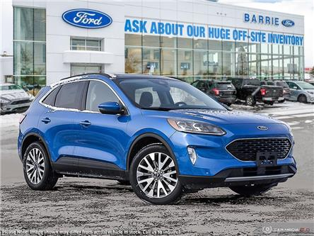 2020 Ford Escape Titanium (Stk: U0118) in Barrie - Image 1 of 27