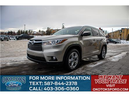2015 Toyota Highlander Limited (Stk: LK-41A) in Okotoks - Image 1 of 12