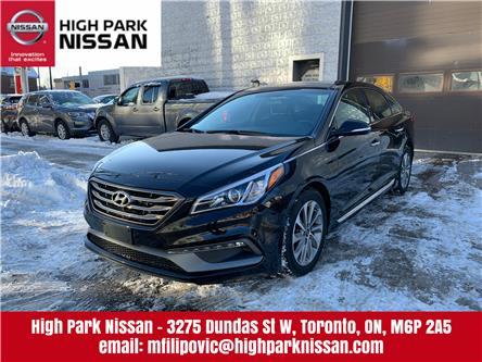 2016 Hyundai Sonata Sport Tech (Stk: U1774) in Toronto - Image 1 of 23