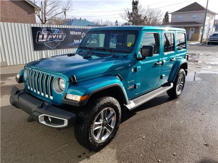 2019 Jeep Wrangler Unlimited Sahara (Stk: 16579) in Fort Macleod - Image 1 of 21