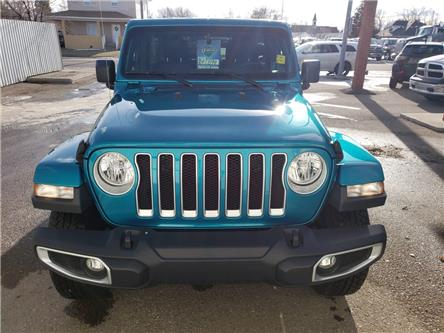 2019 Jeep Wrangler Unlimited Sahara (Stk: 16579) in Fort Macleod - Image 2 of 21