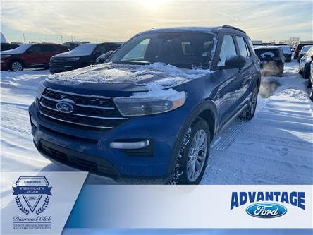 2020 Ford Explorer XLT (Stk: L-048) in Calgary - Image 1 of 7
