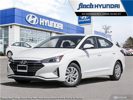 2020 Hyundai Elantra ESSENTIAL (Stk: 93023) in London - Image 1 of 23