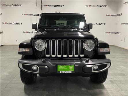 2019 Jeep Wrangler Unlimited Sahara (Stk: DOM-611490) in Burlington - Image 2 of 34
