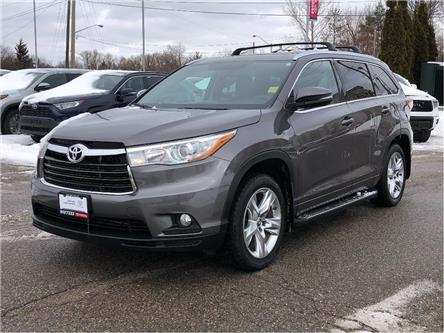 2016 Toyota Highlander Limited (Stk: U3094) in Vaughan - Image 1 of 26