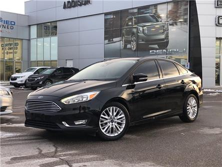 2017 Ford Focus Titanium (Stk: U200605) in Mississauga - Image 1 of 18