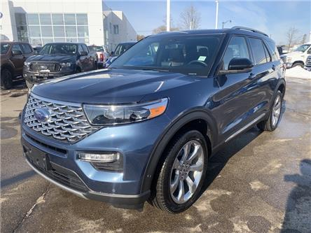 2020 Ford Explorer Platinum (Stk: 2070) in Perth - Image 1 of 14