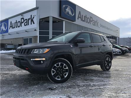 2018 Jeep Compass Trailhawk (Stk: 18-12531RJB) in Barrie - Image 1 of 29