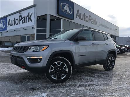 2018 Jeep Compass Trailhawk (Stk: 18-12576RJB) in Barrie - Image 1 of 29