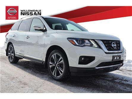 2018 Nissan Pathfinder Platinum (Stk: C35398) in Thornhill - Image 1 of 30