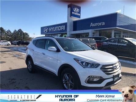 2017 Hyundai Santa Fe Sport  (Stk: 5163) in Aurora - Image 1 of 17
