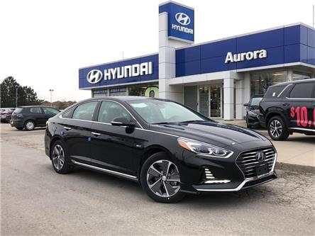 2019 Hyundai Sonata Plug-In Hybrid Ultimate (Stk: 21870) in Aurora - Image 1 of 15