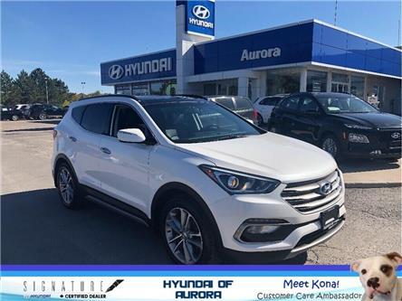 2017 Hyundai Santa Fe Sport  (Stk: 218321) in Aurora - Image 1 of 21