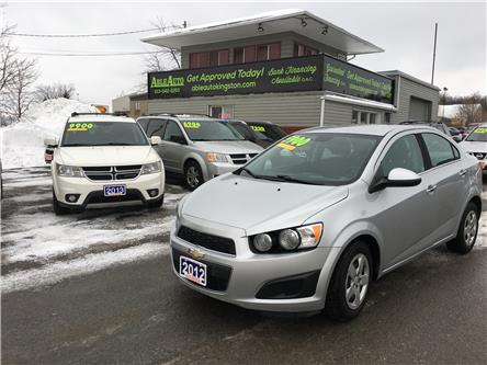 2012 Chevrolet Sonic LT (Stk: 2631) in Kingston - Image 1 of 9