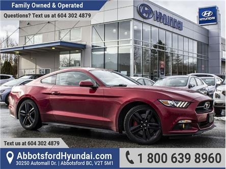 2015 Ford Mustang EcoBoost Premium (Stk: AH8959A) in Abbotsford - Image 1 of 28