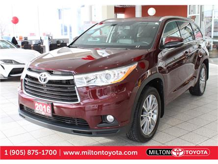 2016 Toyota Highlander XLE (Stk: 293219) in Milton - Image 1 of 42