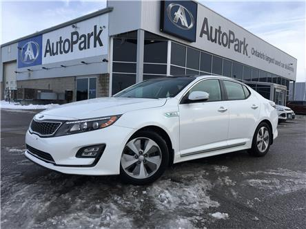 2016 Kia Optima Hybrid LX (Stk: 16-99382MB) in Barrie - Image 1 of 24