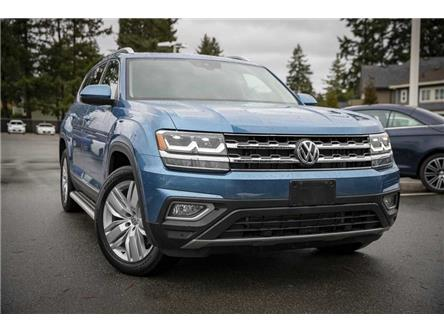 2019 Volkswagen Atlas 3.6 FSI Execline (Stk: KA511378) in Vancouver - Image 1 of 25