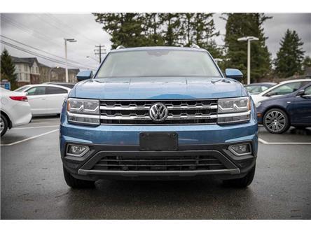 2019 Volkswagen Atlas 3.6 FSI Execline (Stk: KA511378) in Vancouver - Image 2 of 25