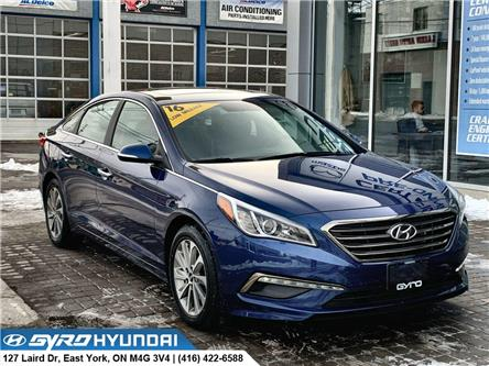 2016 Hyundai Sonata GLS Special Edition (Stk: H5520A) in Toronto - Image 1 of 29