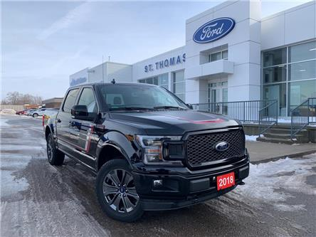 2018 Ford F-150 Lariat (Stk: T9750A) in St. Thomas - Image 1 of 30