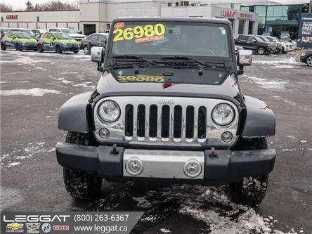 2014 Jeep Wrangler Unlimited Sahara (Stk: 208031A) in Burlington - Image 2 of 10