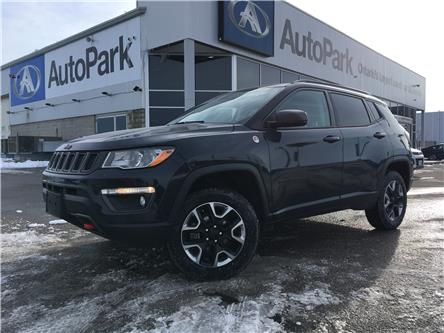 2018 Jeep Compass Trailhawk (Stk: 18-17425RJB) in Barrie - Image 1 of 29