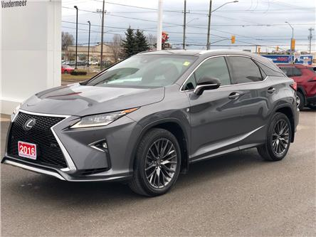 2016 Lexus RX 350 Base (Stk: W4969) in Cobourg - Image 1 of 25