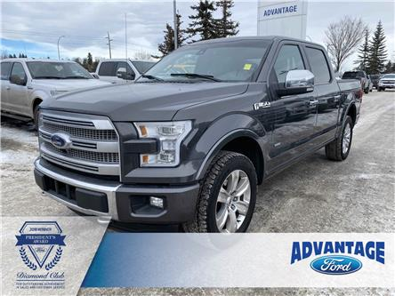 2015 Ford F-150 Platinum (Stk: 5593) in Calgary - Image 1 of 25
