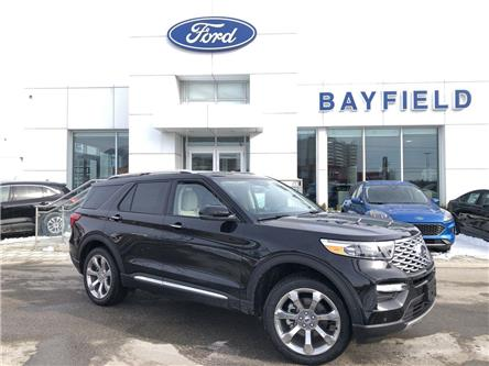 2020 Ford Explorer Platinum (Stk: EX20162) in Barrie - Image 1 of 21
