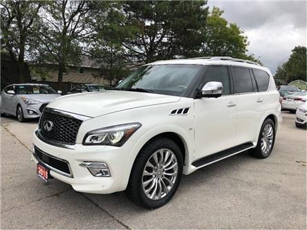 2015 Infiniti QX80 A MUST SEE! NAVIGATION! LEATHER!! (Stk: 5529) in Stoney Creek - Image 1 of 27