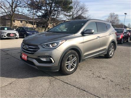 2018 Hyundai Santa Fe Sport Pano Roof| Leather |AWD| Back Up Cam (Stk: 5314) in Stoney Creek - Image 1 of 24
