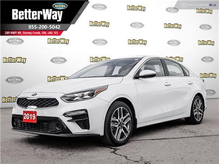 2019 Kia Forte EX+ IVT |SUNROOF |APPLE CARPLAY | SAFETY PACKAGE (Stk: 5584) in Stoney Creek - Image 1 of 20