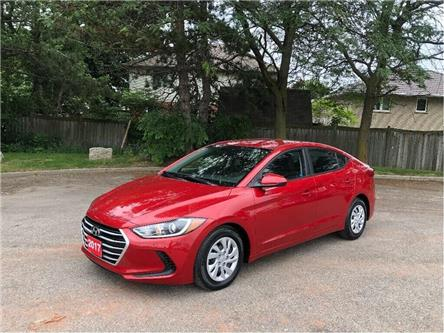2017 Hyundai Elantra LE| B-Tooth| Heat Seat| $72 weekly (oac)| Auto (Stk: 5431) in Stoney Creek - Image 1 of 20