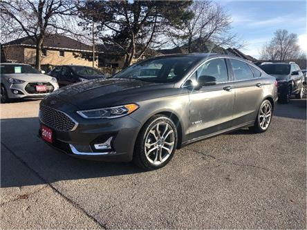 2019 Ford Fusion Hybrid Titanium| NAVIGATION| HYBRID| LEATHER |LOADED (Stk: 5539) in Stoney Creek - Image 1 of 25