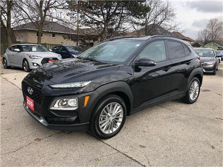 2019 Hyundai Kona LUXURY| LEATHER | AWD | SUNROOF | LANE DEPARTURE (Stk: 5569) in Stoney Creek - Image 1 of 25