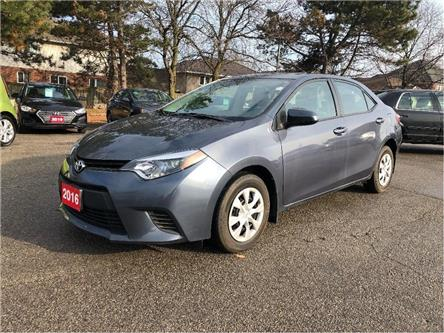 2016 Toyota Corolla $74 weekly (oac) Auto| Low Kms| Call Today! (Stk: 5422) in Stoney Creek - Image 1 of 19