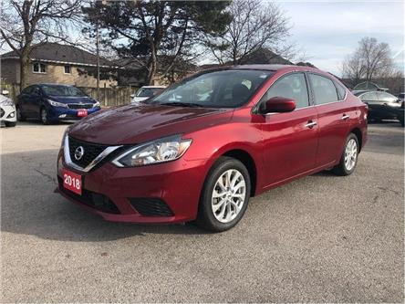 2018 Nissan Sentra Sunroof | Back up cam | Heated seats | Loaded (Stk: 5501) in Stoney Creek - Image 1 of 22