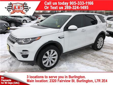 2016 Land Rover Discovery Sport HSE LUXURY (Stk: 47906A) in Burlington - Image 1 of 25