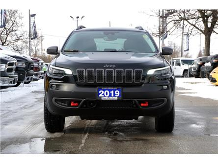 2019 Jeep Cherokee TRAILHAWK| ELITE| L PLUS| 4X4| FULLY LOADED! (Stk: L463A-1C4PJMBX9KD450190) in Burlington - Image 2 of 50