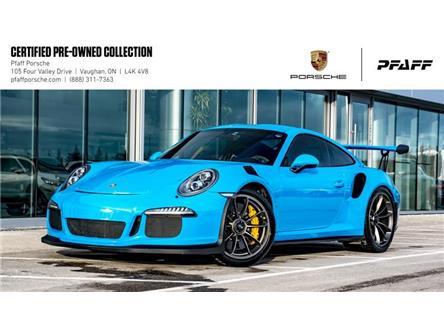 2016 Porsche 911 GT3 RS (Stk: U8435) in Vaughan - Image 1 of 21