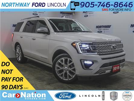 2018 Ford Expedition Platinum | 4x4 | NAV | PWR HTD LEATHER | PANOROOF (Stk: LN97421A) in Brantford - Image 1 of 50