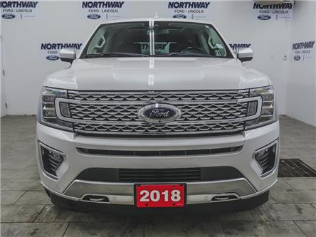 2018 Ford Expedition Platinum | 4x4 | NAV | PWR HTD LEATHER | PANOROOF (Stk: LN97421A) in Brantford - Image 2 of 50