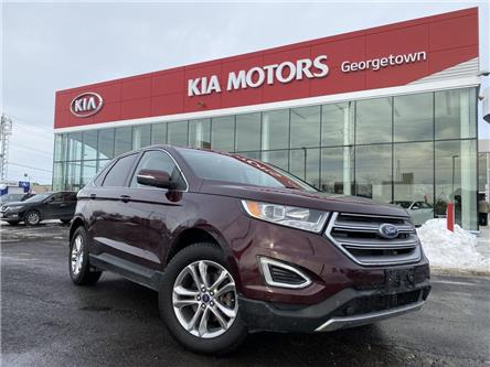 2017 Ford Edge SEL | NAVI | LEATHER | PANO ROOF | B/U CAM | V6 | (Stk: P12987) in Georgetown - Image 2 of 39