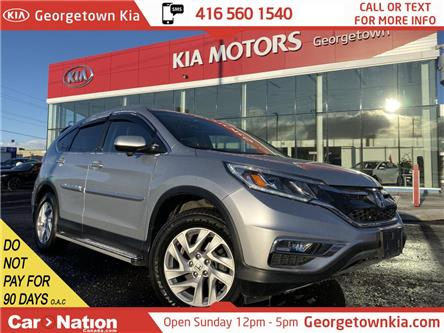 2015 Honda CR-V EX-L AWD | CLEAN CARFAX | LEATHER | ROOF | BU CAM (Stk: P12966) in Georgetown - Image 1 of 34