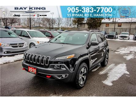 2018 Jeep Cherokee Trailhawk (Stk: 207567A) in Hamilton - Image 1 of 25