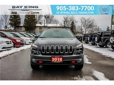 2018 Jeep Cherokee Trailhawk (Stk: 207567A) in Hamilton - Image 2 of 25