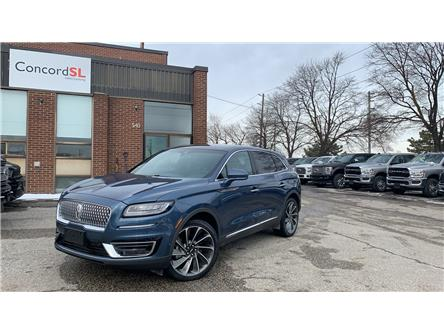 2019 Lincoln Nautilus Reserve (Stk: C3698) in Concord - Image 1 of 5