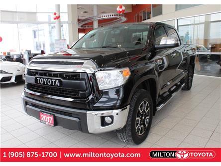 2017 Toyota Tundra Platinum 5.7L V8 (Stk: 585507) in Milton - Image 1 of 38