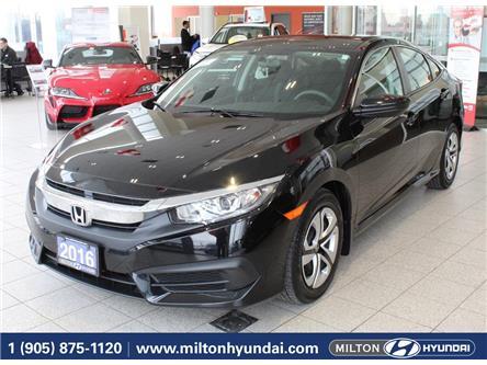 2016 Honda Civic LX (Stk: 037465) in Milton - Image 1 of 33